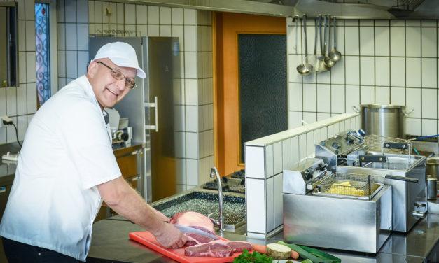 """""""Ich koch' einfach gern!"""" – Gottfried Stieber"""