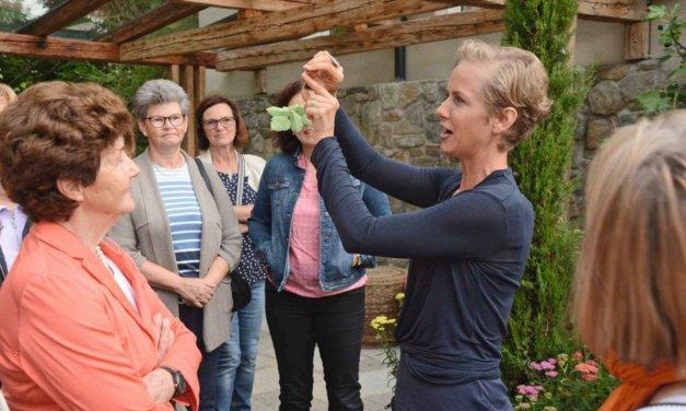 Gartenexpertin zu Gast in der Landvilla Pia