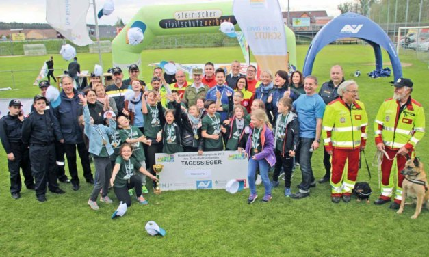 Safety Tour – Gratulation an die VS Hitzendorf zum Bezirkssieg