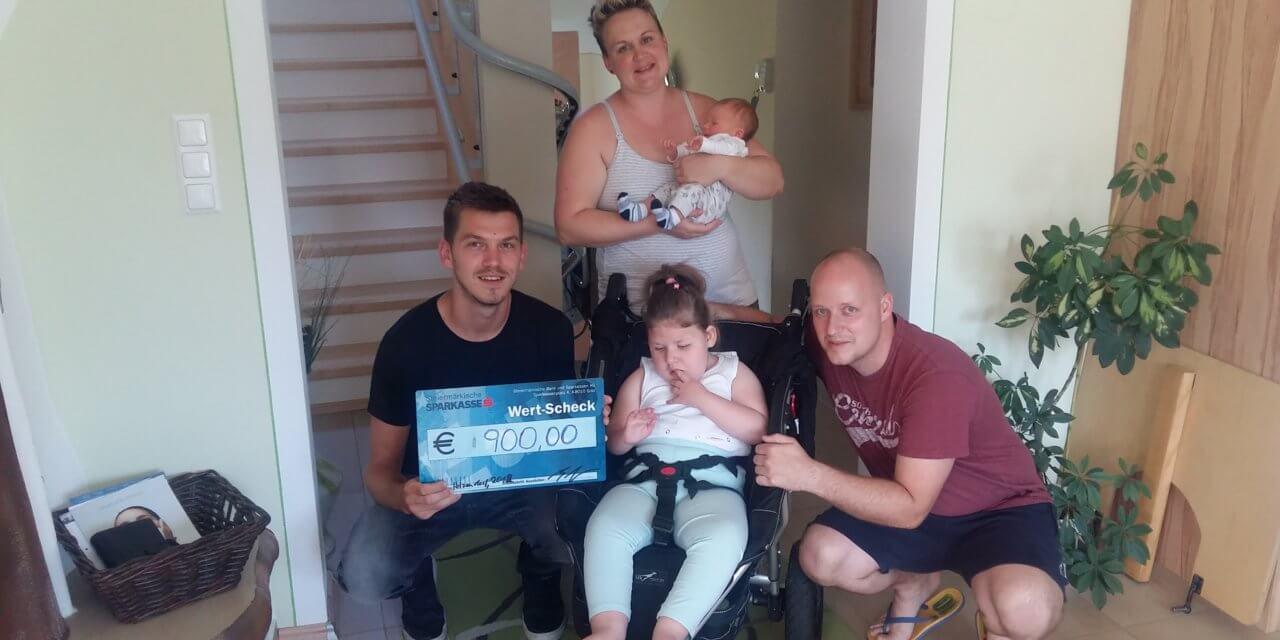 Spenden-Fußballturnier für die kleine Elina